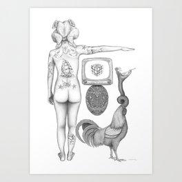 Riddle Art Print
