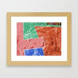 Pop Impro Framed Art Print