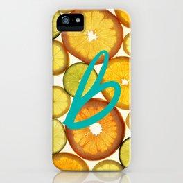 Citrus - Citron (Recettes du Bonheur) iPhone Case