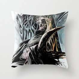 Thranduil Throw Pillow