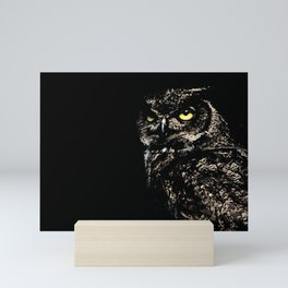 Owl Mini Art Print