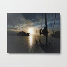 Stern Sunburst Metal Print