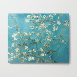 Almond Blossoms by Vincent van Gogh Metal Print