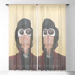Willy Wonka Sheer Curtain