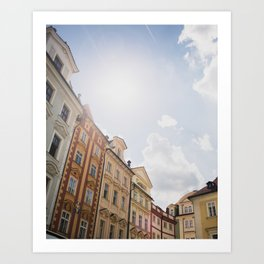 Old Town Square, Prague Art Print