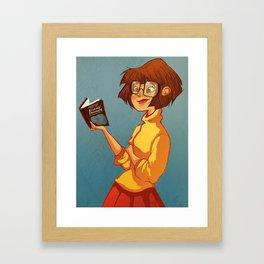Velma Velma Velma Framed Art Print