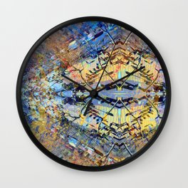 Akin to recalling, instead; understood mimicry. 20 Wall Clock
