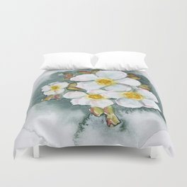 Watercolour Wildflower Duvet Cover