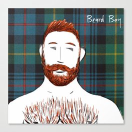 Beard Boy: Finlay Canvas Print