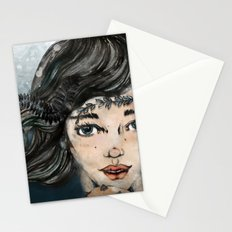 She Makes The Sound The Sea Makes Stationery Cards