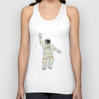outer space Tank Tops featuring Outer Space by Tuylek