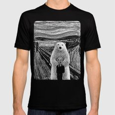 bear factor Black LARGE Mens Fitted Tee