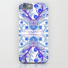 Floral Antlers – Blue Palette iPhone 6s Slim Case