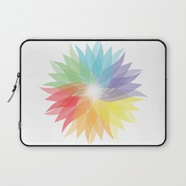 colorful lady Laptop Sleeve