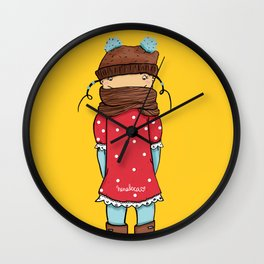 Be Authentic Wall Clock