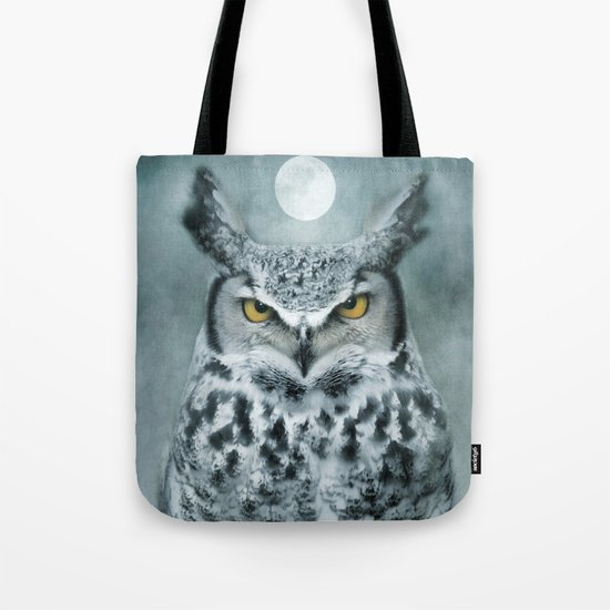 By the light of the Moon... Tote Bag