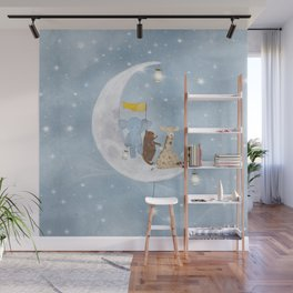 starlight wishes with you Wall Mural