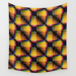 Multi-colored  pattern . Wall Tapestry