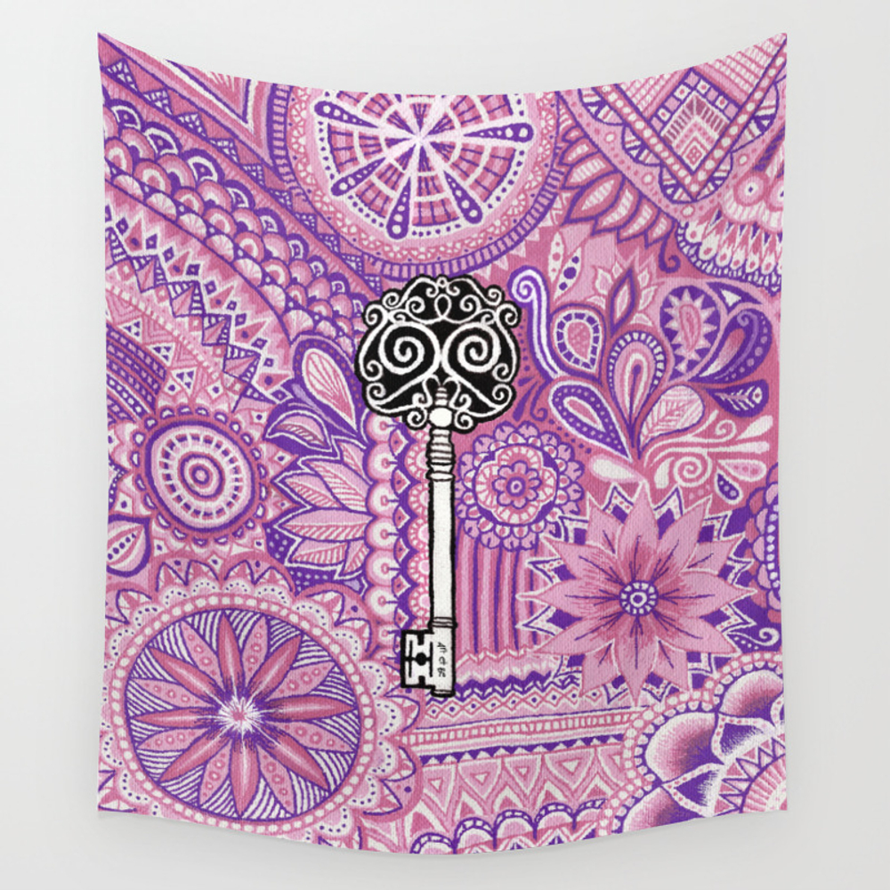 The Key To Success ! Wall Tapestry by Artetbe TPS3824989