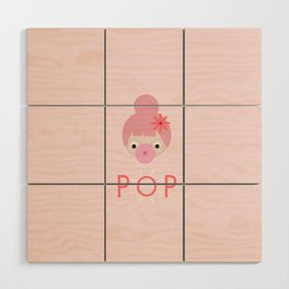 Pop! Wood Wall Art