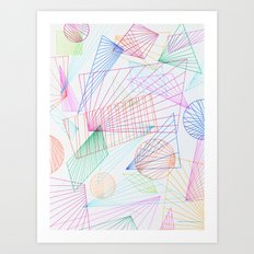 горизонт Art Print