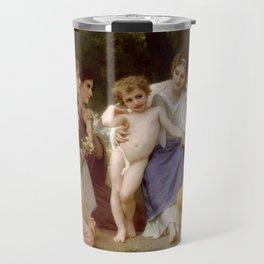 """William-Adolphe Bouguereau """"Admiration"""" Travel Mug"""