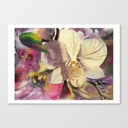 20120423 Orchid Canvas Print