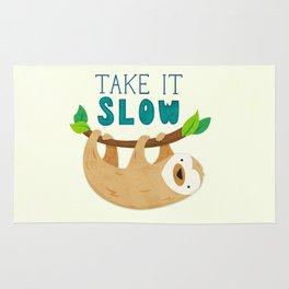 Sloth: Take it Slow Rug