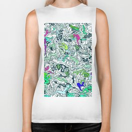 Kamasutra LOVE - Forest Green Biker Tank