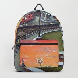 Cardiff Bay Sunset Backpack