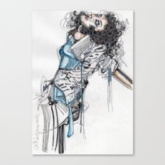 State of Undress Canvas Print