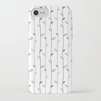 calendars iPhone & iPod Cases featuring Spring Pattern by Shabby Studios Design & Illustrations ..