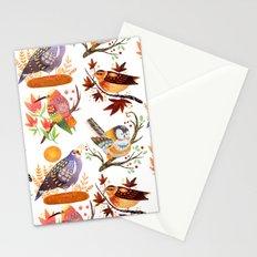 Seasonal Birds Stationery Cards