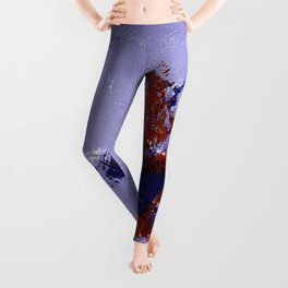 Eyes on the Prize - Ice Hockey Player Leggings