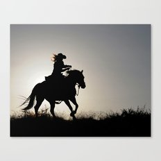 Cowgirl Adventure Canvas Print