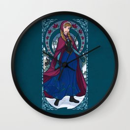 Worth Melting For Wall Clock