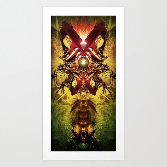 Spinal Tyrant mkii Art Print
