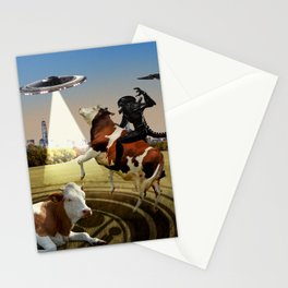 Living Among Us Stationery Cards
