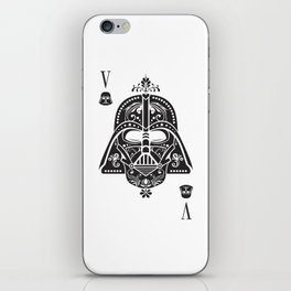 Darth Vader Card iPhone Skin