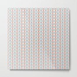 Modern Pattern Art Design Metal Print