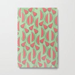 Watermeloon Metal Print
