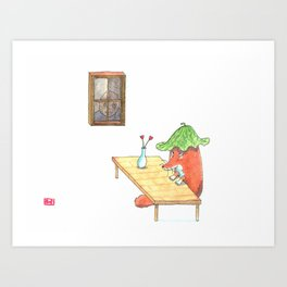 I Detect a Presence Art Print