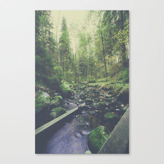 Mountain of solitude Canvas Print
