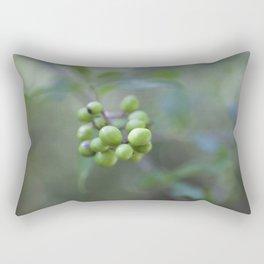 Green Burgeon Rectangular Pillow