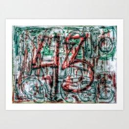 Al Grito De Guerra Art Print