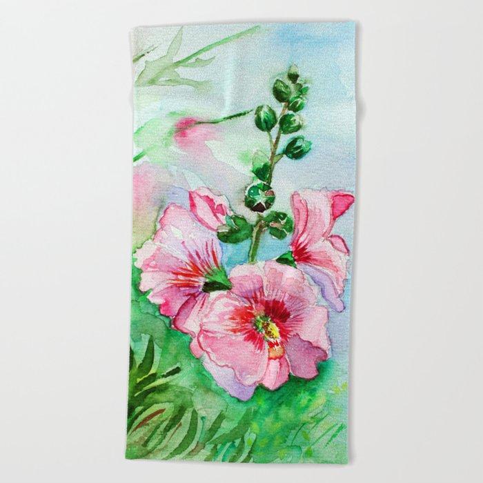 Mallows Beach Towel