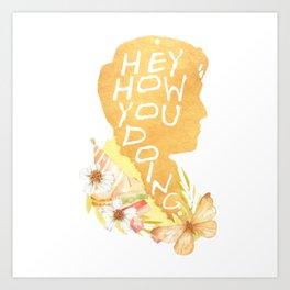 joey - how u doin Art Print