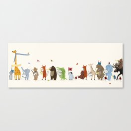little big parade edition Canvas Print