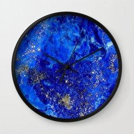 Lapis Dreams Wall Clock
