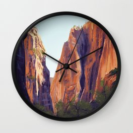 Zion National Park Wall Clock